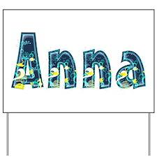 Anna Under Sea Yard Sign