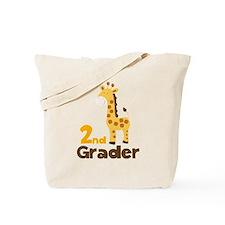 2nd Grader giraffe Tote Bag
