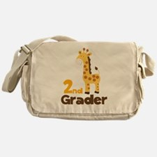 2nd Grader giraffe Messenger Bag