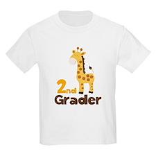 2nd Grader giraffe T-Shirt
