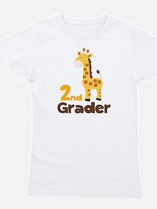 2nd Grader giraffe Girl's Tee