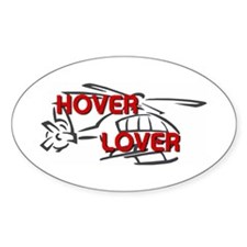 Hover Lover Oval Decal
