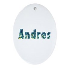 Andres Under Sea Oval Ornament