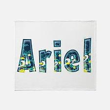 Ariel Under Sea Throw Blanket
