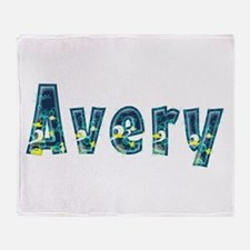 Avery Under Sea Throw Blanket
