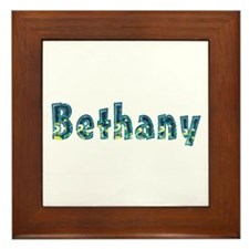 Bethany Under Sea Framed Tile