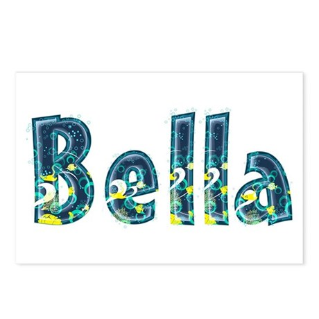 Bella Under Sea Postcards 8 Pack