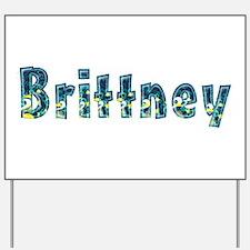 Brittney Under Sea Yard Sign