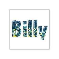 Billy Under Sea Square Sticker