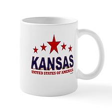 Kansas U.S.A. Mug