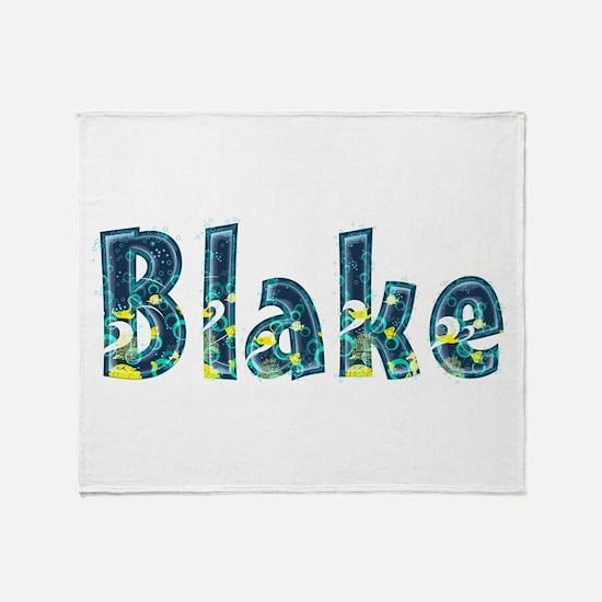 Blake Under Sea Throw Blanket