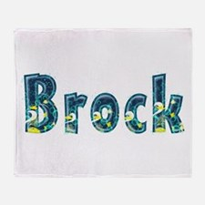 Brock Under Sea Throw Blanket