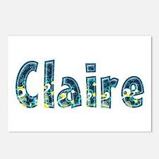 Claire Under Sea Postcards 8 Pack