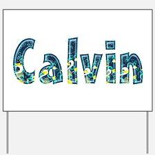 Calvin Under Sea Yard Sign