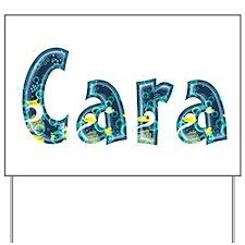Cara Under Sea Yard Sign