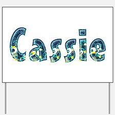 Cassie Under Sea Yard Sign