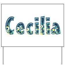 Cecilia Under Sea Yard Sign
