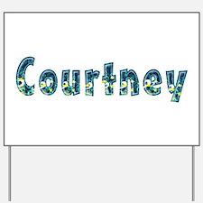 Courtney Under Sea Yard Sign
