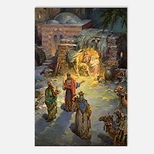 Vintage Christmas Nativit Postcards (Package of 8)