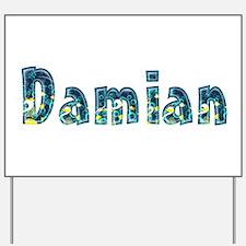 Damian Under Sea Yard Sign