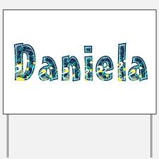 Daniela Under Sea Yard Sign