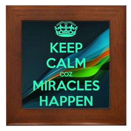 MIRACLES Framed Tile