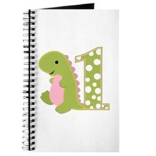 First Birthday Dino Journal