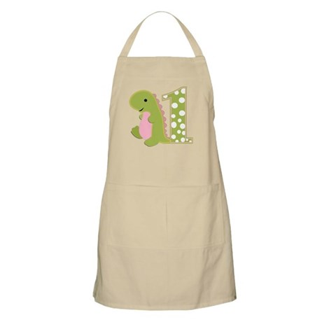 First Birthday Dino Apron
