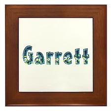 Garrett Under Sea Framed Tile
