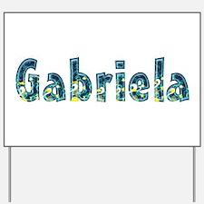 Gabriela Under Sea Yard Sign