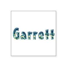 Garrett Under Sea Square Sticker