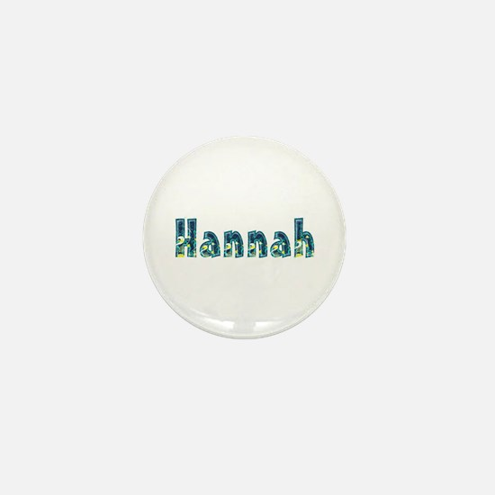 Hannah Under Sea Mini Button