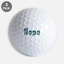 Hope Under Sea Golf Ball