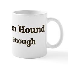One Afghan Hound Mug