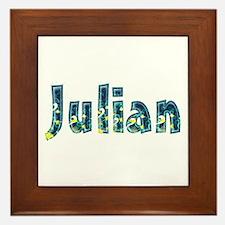 Julian Under Sea Framed Tile