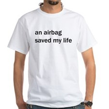OK Computer An airbag saved my life black T-Shirt