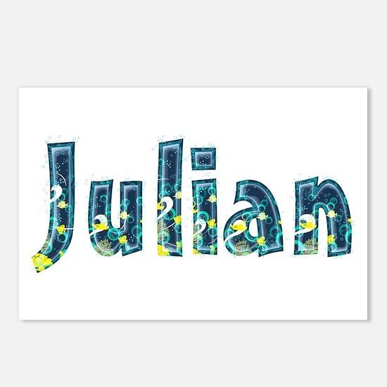 Julian Under Sea Postcards 8 Pack