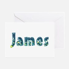 James Under Sea Greeting Card