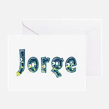 Jorge Under Sea Greeting Card
