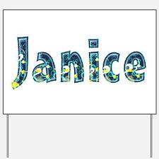 Janice Under Sea Yard Sign