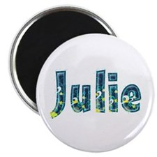 Julie Under Sea Round Magnet