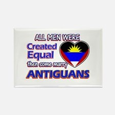 Antiguan Wife Designs Rectangle Magnet