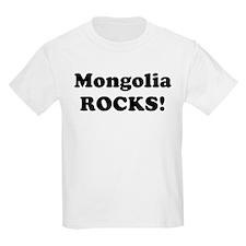 Mongolia Rocks! Kids T-Shirt