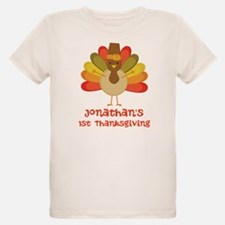 Personalized 1st Thanksgiving Turkey T-Shirt