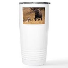 Bull Bison & Wolf Travel Coffee Mug