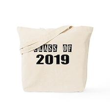 CLASS OF 2019 Tote Bag