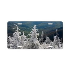 Great Smoky Mountain Nation Aluminum License Plate