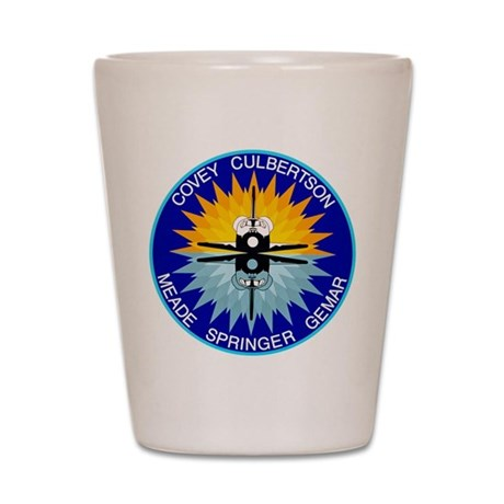 STS-38 Atlantis Shot Glass