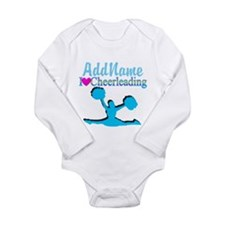 CHEER TO WIN Long Sleeve Infant Bodysuit