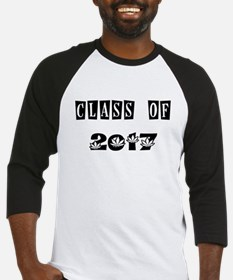CLASS OF 2017 MARIJUANA Baseball Jersey